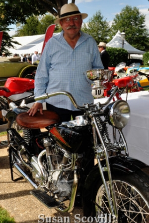 """19. Michael Casale won """"Best of Show"""" for this motorcycle."""