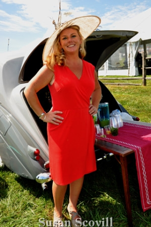 6. Crissy Bowden enjoyed Concours annual event!.