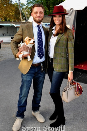4. Tyler Williams and Helen Anastassov shared a stylish moment!