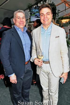 12. Marcello Luzi and Greg Seitter.