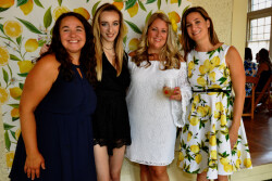Renee Patrone's friends and family throw a bridal shower with a lemon twist!