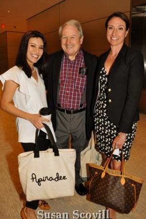 3. Apple Koomajuk, Alex Chamberlin and Margaret Brenner.
