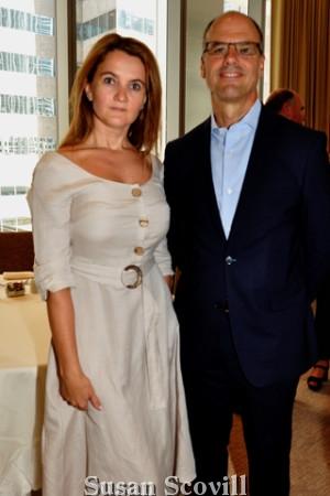 11. Jana Vagele and Steve Arrivello.
