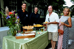 The Board of the Willows Park Preserve host garden party