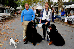 Enthusiastic crowds attend 'Yappy Hour' during the Devon Fall Classic