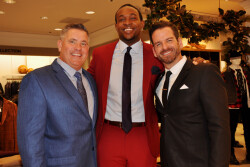 Super Bowl Champion Ashlon Jeffery hosts Boys & Girls Club fundraiser at Saks Fifth Avenue
