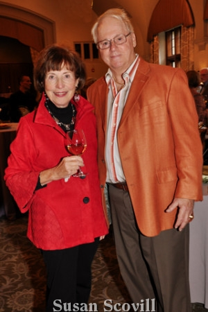 4. Marlene Milner chatted with John McCarthy.