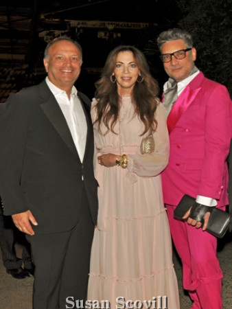 13. Jonathan Propper, Lisa Zenkel and Cameron Sylver attended the gala event.