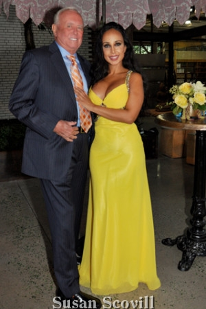 2. Marty Judge attended the event with the beautiful Nina Radcliff M.D.