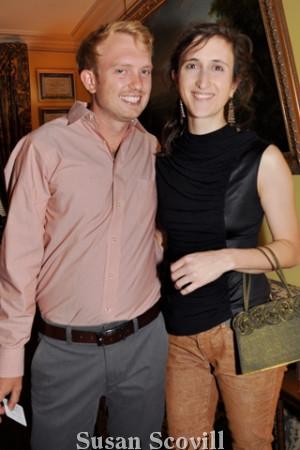 4. Luke Hamilton and Alicia Forero.