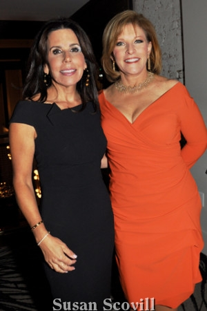 13. Nicole Dresnin Schaeffer chatted with Stephanie Stahl of CBS 3, who served as the event's emcee.