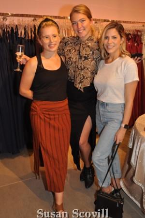 19. Haley Richter, Daria Magazzu and Kristyn Kennedy.