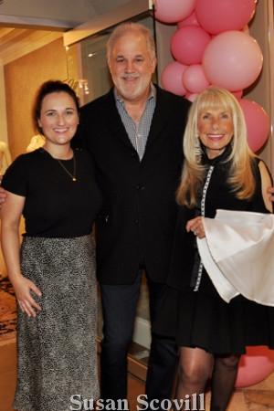 3. Ashley Grape, Kenny Berkowitz and Deborah Van Cleve.