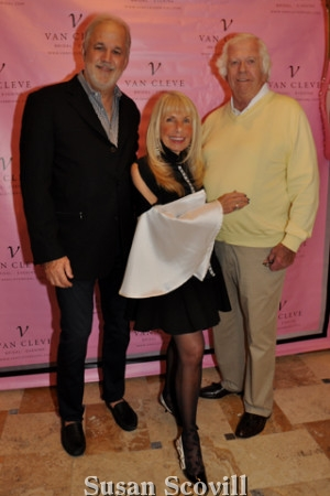 7. Jimmy Berkowitz chatted with Deborah Van Cleve and her husband George during the event.