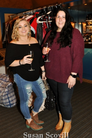 2. Guests included Casi Severson and Chelsea Panichi. They received a glass of champagne to toast the new season!