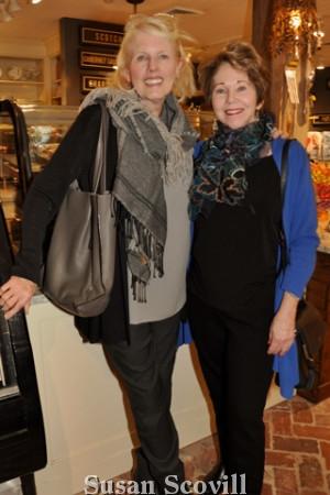 10. Linda Liebert and Meg Latino.