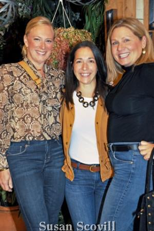 6. Heather Radano, Laurel Sarian and Jeanne DeSimone.