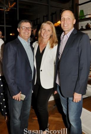 10. Scott Boyd, Charlene Stovall and Kenny Klein.