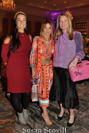 9. Laura Wagoner, Moira Rubinho and Allison Brady,