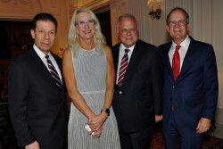 Philadelphia Hospitality honors three outstanding individuals during Vision for Philadelphia Award event at the Union League