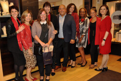 "A VIP shopping experience at LAGOS Rittenhouse benefits ""Go Red for Women"""
