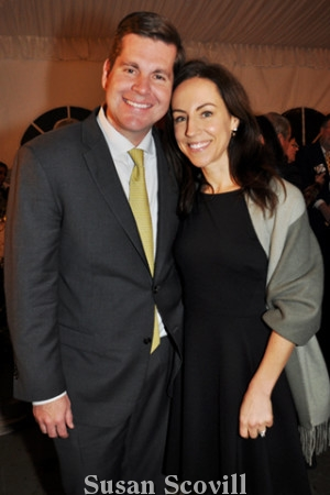 6. Academy Ball 2020 co-chair Jim Brandau and his wife Micaela.