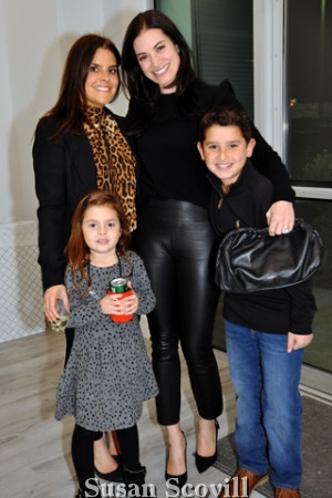6. Rebecca Kirshner and Margot Bloom and her children.