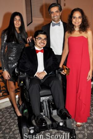 6. Jasmine, Yuva, Manu and Sonal Gambhir.