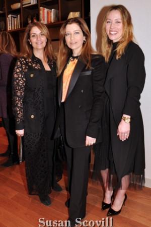 10. Claudine Saab, Joyce Mamani and Elizabeth Henry.