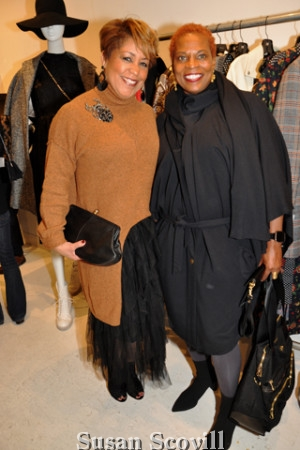7. Stephanie Boyd and Kelly Lee Conrad attended the event.