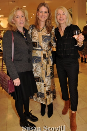 15. Elyse Berger, Ellen Caplan and Karen Caplan.