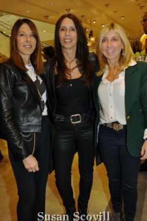 3. Kim Feller, Sue Rabinowitz and Cari Lasdon.