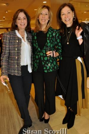 8. Ruth Horowitz, Caren Barnett and Marta Adelson.