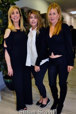 4. Phyllis Gambone, Charisse Marie and Annmarie Barnett.