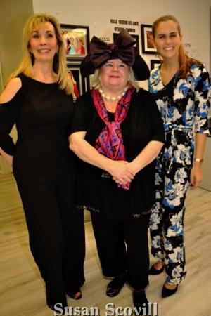 6. Phyllis Gambone, Michelle Leonard and Julia Minakowski.