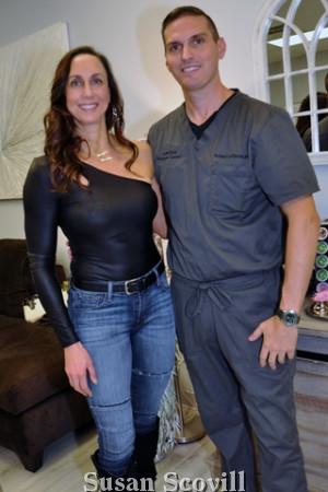 8. Carol Malin and Robert LaTerra M.D.