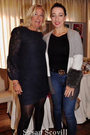 14. Sandra Yodesky chatted with Christina Wagoner at the sold oiut event.