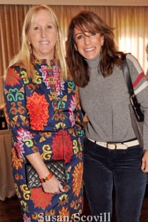 7. Diana Shank and Maren Levine attended the luncheon and fashion show.