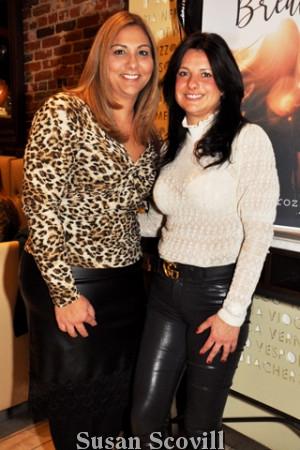 11. Marialuisa Ciocca and Carmelina Berardi.