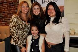 Tania (Trozzo) Spensierato launches 'Breathe' at Gran Caffe Aquila