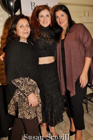 19. Nina Sposato, Tania Spensierato and Angela Sposato.