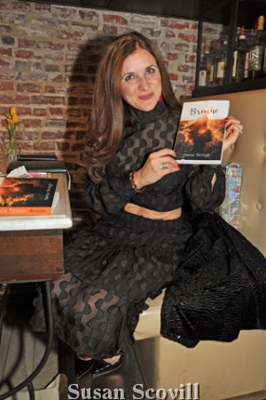 24. Tania Spensierato and her book called ''Breathe''