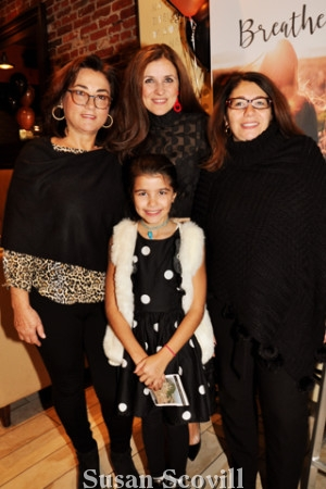 3. Franca Colella and Anna Vuono celebrated the book launch with Tania and her daughter Giada.