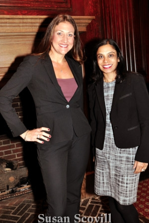 6. Julia Brines chatted with Monica Jindia of Commonwealth.