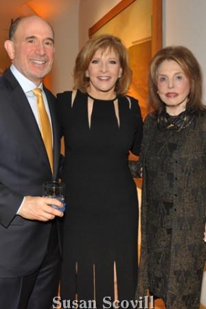29. Joseph Kestenbaum, CBS-3's Stephanie Stahl and Adele Schaffer.