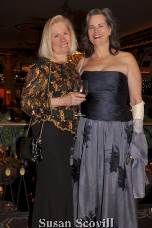 Clare Myer chatted with Anne Hain during the event.