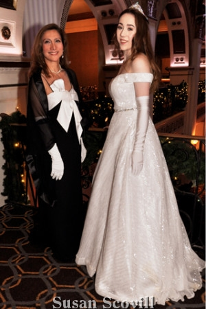 Conni McDonnell and her debutante daughter Anya McDonnell