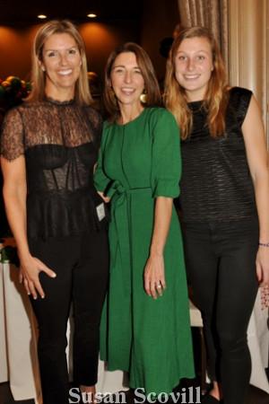 3. Annie O'Grady, Kelly Corcoran and Emma Marcione.