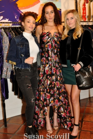 2. Olivia Foster, Xan Riley and Jessica Johns modeled some of the fabulous clothing available at the boutique.