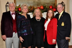 The Philadelphia Branch of the English Speaking Union members and guests gather for 'A Holiday Party' at The Corinthian Yacht Club